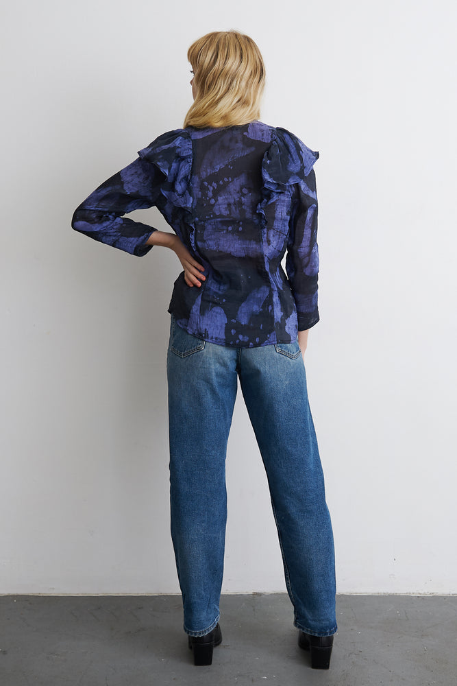 Chira Blouse in Rorschach