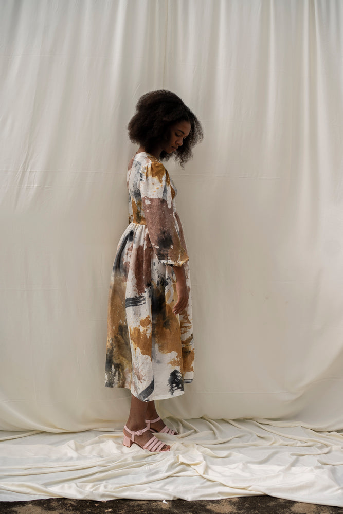 Esaso Dress in Thunderstruck