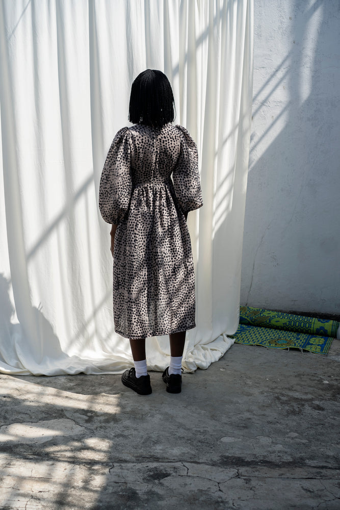 Esaso Dress in Snakebite