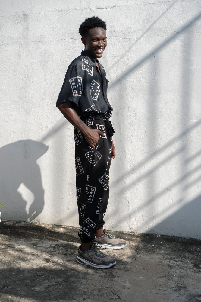 Multi Trouser in Osei-Duro Logo