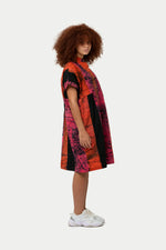 Sample Sale - Bata Dress in Carmine