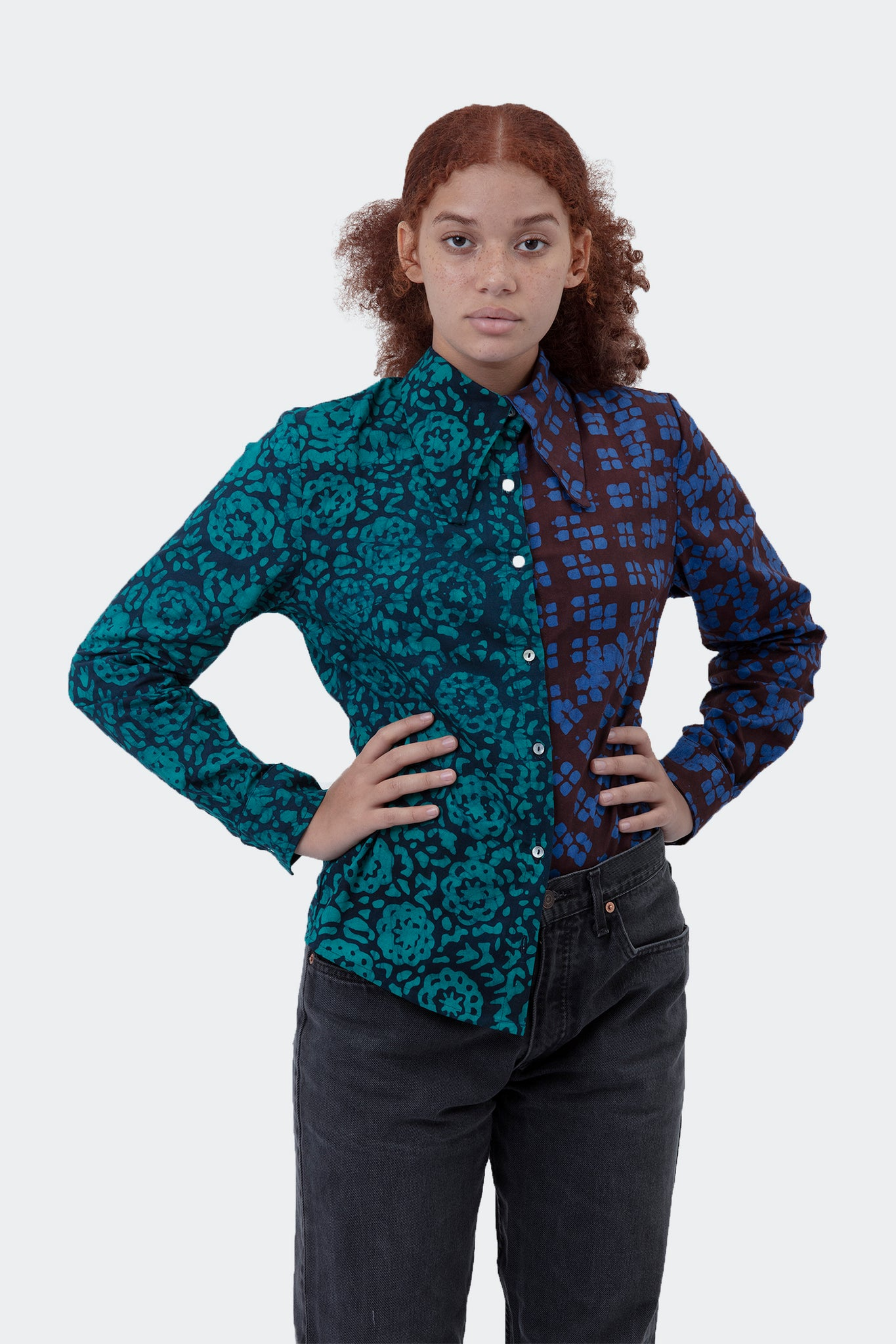 AW19 Del 3 - Everywhere Blouse in Shalott/Sub Combo