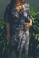 Tulip Wrap Dress in Lilith
