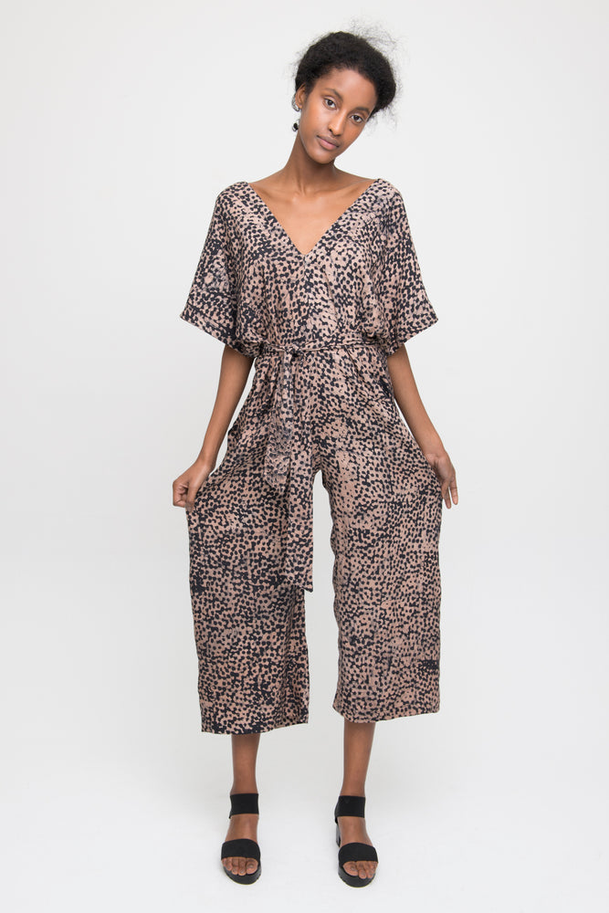 Easy Jumpsuit in Snakebite