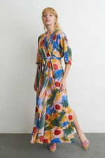 Letsa Wrap Dress in Elaine