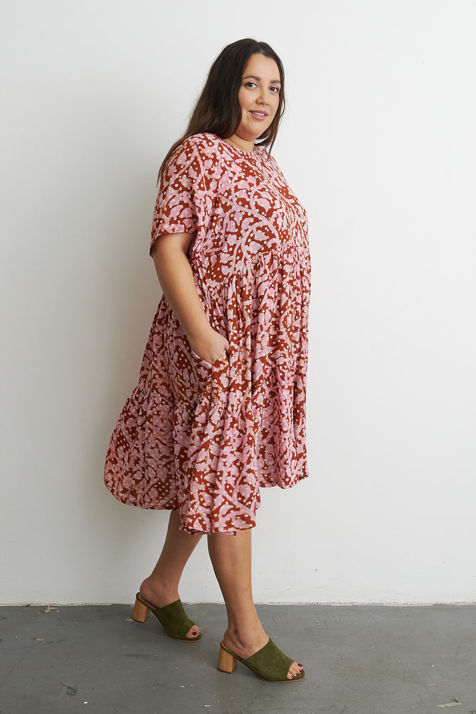 Layer Dress in Hedera