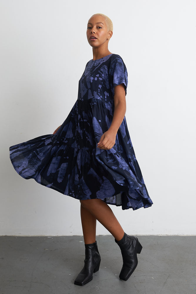 Layer Dress in Rorschach