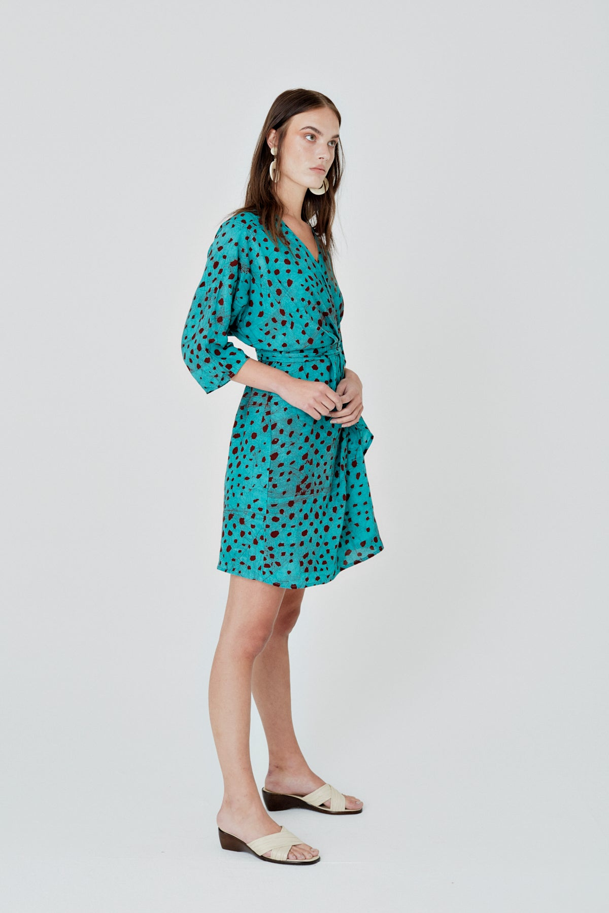 Shaya Dress in Baby Giraffe