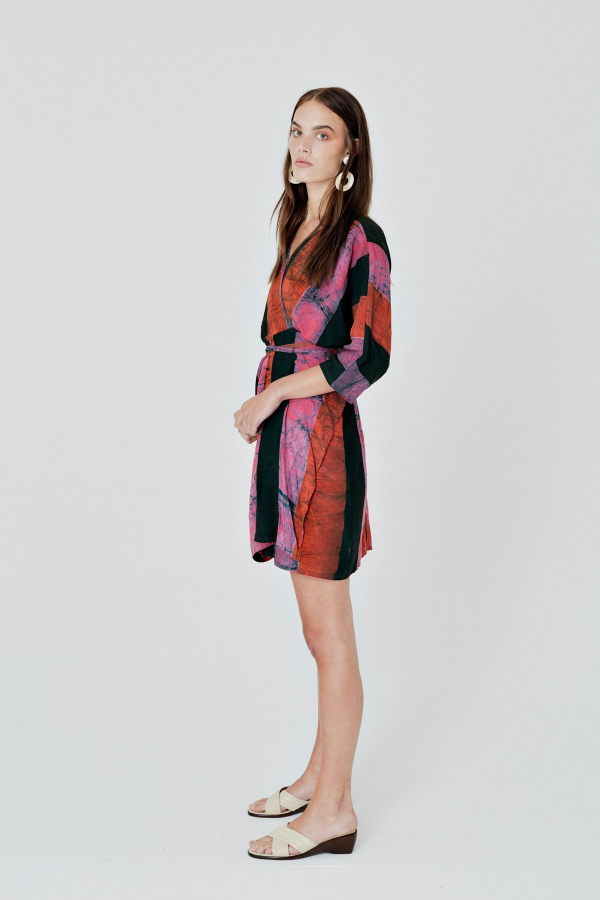 Shaya Dress in Carmine
