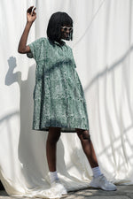 Bata Dress in Bullfrog by Moonlight