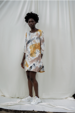 Krobo Dress in Thunderstruck