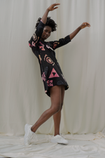 Krobo Dress in Funny Fun