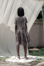 Layer Dress in Snakebite