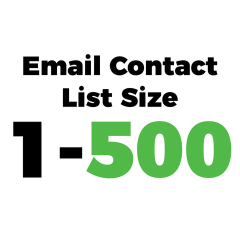 Email Marketing List Size