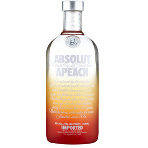 ABSOLUT APEACH (PEACH) VODKA