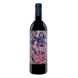 Abstract Red Wine Orin Swift 2015