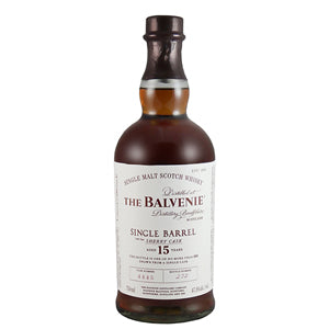 BALVENIE 15 YEAR SINGLE BARREL SHERRY CASK