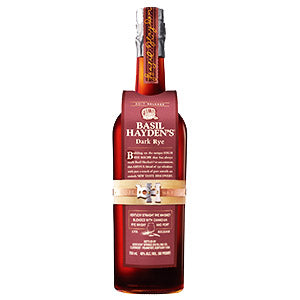 BASIL HAYDENS DARK RYE BOURBON WHISKEY