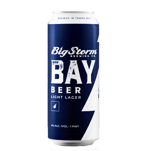 BIG STORM BAY BEER LIGHT LAGER