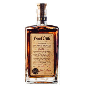 BLOOD OATH PACT NO.4 BOURBON WHISKEY