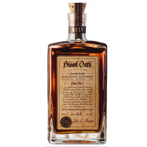 BLOOD OATH PACT NO. 3 BOURBON WHISKEY