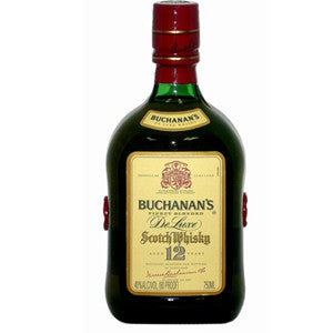 BUCHANANS SCOTCH 12 YEAR DE LUXE