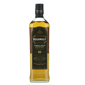 BUSHMILLS 10YR SINGLE MALT IRISH WHISKEY