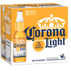 CORONA LIGHT 12PK BOTTLES
