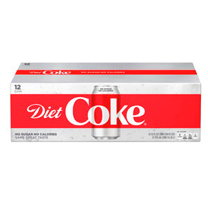 DIET COCA-COLA 12PK CANS