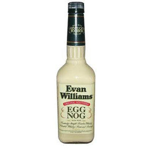 Evan Williams Egg Nog