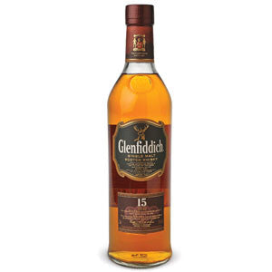GLENFIDDICH 15 YEAR OLD SINGLE MALT SCOTCH WHISKY