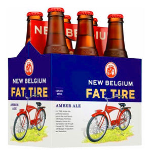 NEW BELGIUM FAT TIRE AMBER ALE 6PK