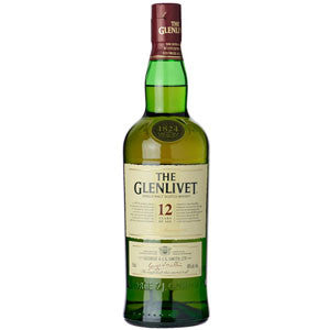 Glenlivet 12 Years Single Malt Scotch Whiskey