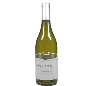 William Hill Central Coast 2014 Chardonnay