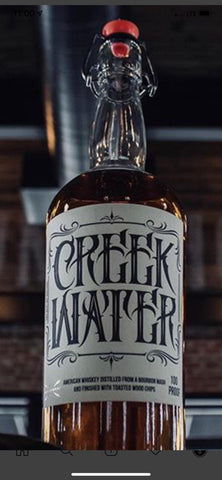 CREEK WATER WHISKEY OPIE TAYLOR BOTTLE