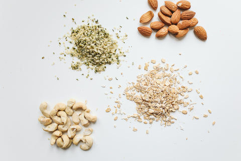Whole grains and nuts