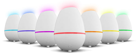Essential Oil Diffuser Giro - Compact Essential Oil Diffuser w/LED Changing Lights