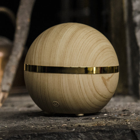 Essential Oil Diffuser Jill - Aromatherapy, Wood Grain Appearance