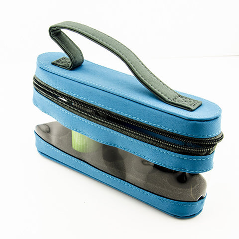 Essential Oil Carrying Case with Window - Holds 6 Bottles