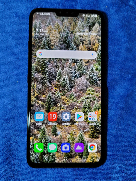 LG V40 ThinQ | Aurora Black 6GB RAM | 64 GB Storage + SD | A Grade