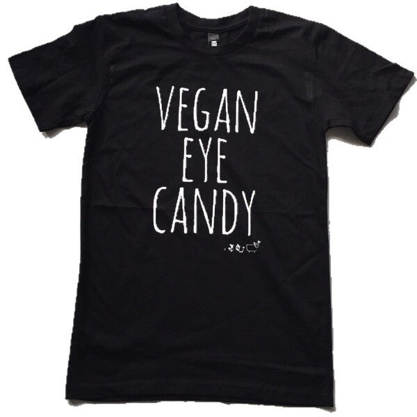VEGAN EYE CANDY - Basic Tee (Unisex)