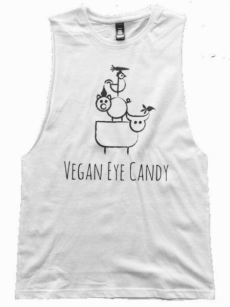 VEGAN EYE CANDY + BALANCING TRIO - Muscle Tank (Unisex)