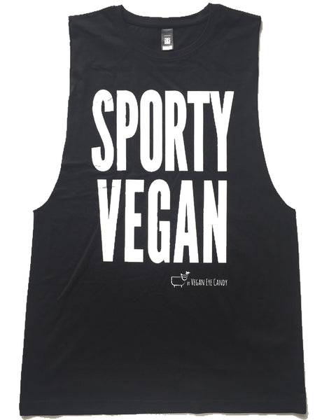 SPORTY VEGAN - Muscle Tank (Unisex) COMING SOON