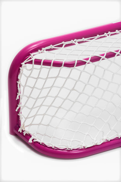 "Pink 36"" Pond Hockey Net"