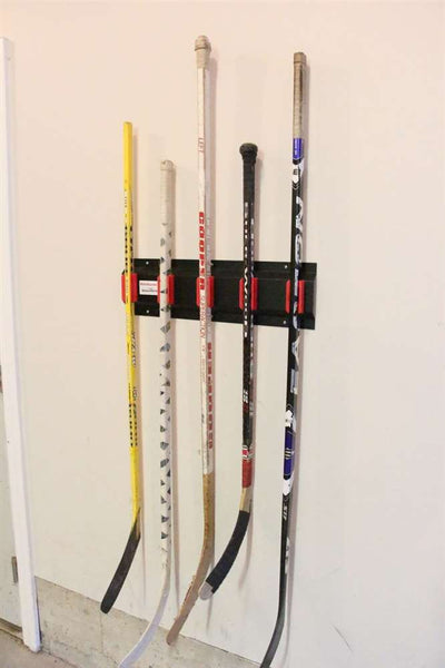 Mountable Hockey Stick Rack