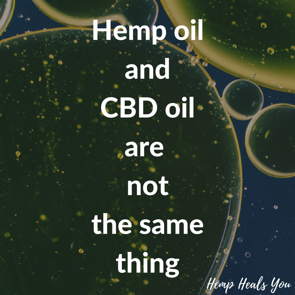 What's The Difference Between Hemp Oil and CBD Oil?