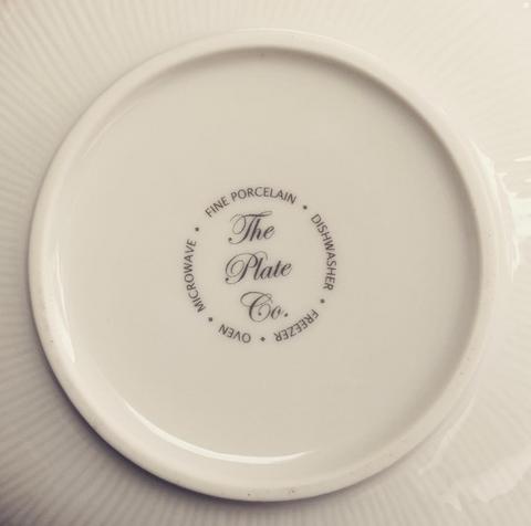 The Plate Company - quality porcelain tableware