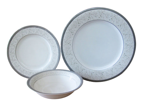 The Plate Co. Signature Grey Premium Dinner Set