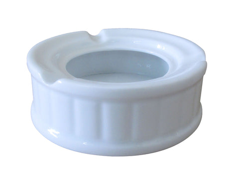The Plate Co. Classic Round Porcelain Ash Tray