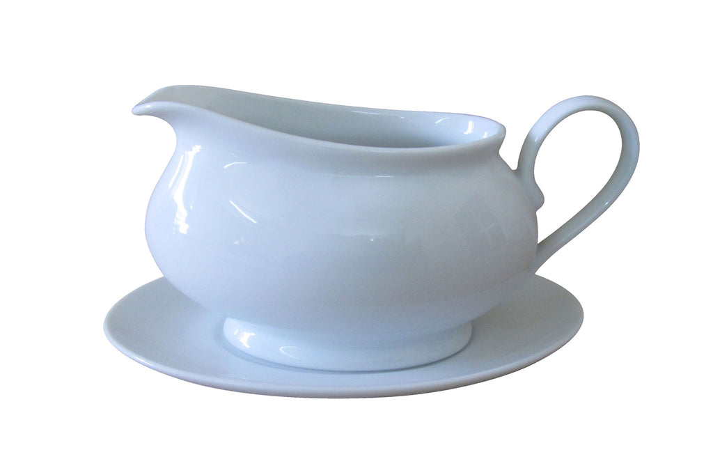 Everyday Dining Gravy Boat and Saucer